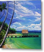 Pigeon Point   Tobago Metal Print