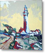 Pigeon Point Metal Print