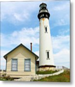 Pigeon Point Lighthouse View Metal Print