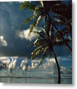 Pigeon Point On Tobago Metal Print