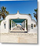 Piges Kallitheas In Rhodes - Greece. Metal Print