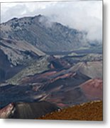 Pihanakalani Haleakala House Of The Sun Summit Maui Hawaii Metal Print
