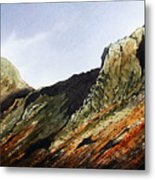 Pike O' Stickle And Loft Crag Metal Print