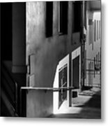 Pike Place Corridor Metal Print