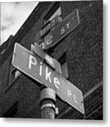 Pike Place Seattle Metal Print