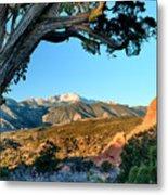 Pikes Peak From Ridge Trail Metal Print