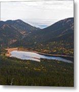 Pikes Peak Manitou Colorado Lake Metal Print