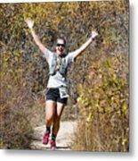 Pikes Peak Road Runners Fall Series IIi Race #3676 Metal Print