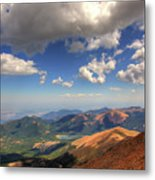 Pikes Peak Summit Metal Print
