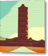 Pillar Of Success Metal Print