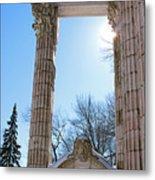 Pillars Of Hercules - The Guild Inn Metal Print