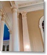 Pillars Of Strentgh Metal Print