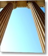 Pillars Of The Sky Metal Print