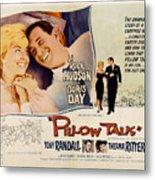 Pillow Talk, Doris Day, Rock Hudson Metal Print by Everett