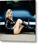 Pin Up #32 Metal Print