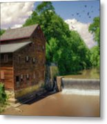 Pine Creek Gristmill Metal Print