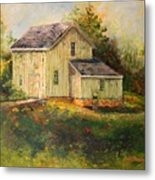 Pine Hill Barn Metal Print