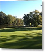 Pine Ridge Golf - Beautiful 14th Par 3 Metal Print
