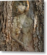 Pine Tree Nymph Metal Print