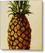 Pineapple Angel Metal Print by Shannon Grissom
