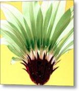 Pineapple Flower Metal Print