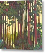 Pines Of Nisqually Metal Print