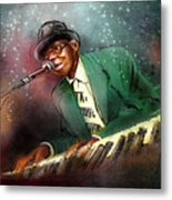 Pinetop Perkins Metal Print