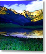 Piney Mountain Metal Print