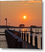 Piney Point Sunrise Metal Print