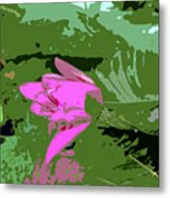Pink Beauty Work Number 8 Metal Print