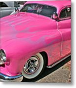 Pink Bomb Metal Print