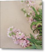 Pink Bunches Metal Print