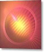 Pink Eclipse Metal Print