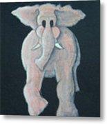 Pink Elephant 1 Metal Print