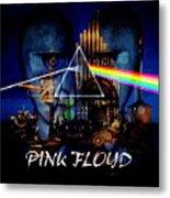 Pink Floyd Montage Metal Print