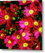 Pink Friends Metal Print