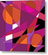 Pink Fusion Metal Print