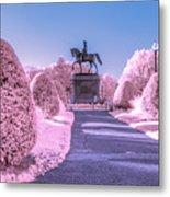 Pink Garden Metal Print