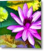 Pink Lotus Gallery  Metal Print