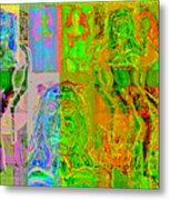 Pink Lounge II Metal Print