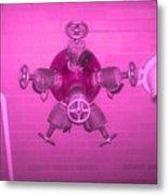 Pink Male Pipe Metal Print