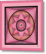 Pink Om Thing Metal Print