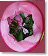 Pink Orb Metal Print