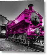 Pink Pannier  Metal Print