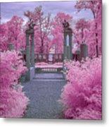 Pink Path To Paradise Metal Print