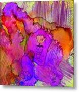 Pink Petals I Metal Print