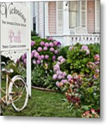 Pink Shop Cape May Metal Print