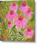 Pink Sunshine Metal Print