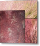 Pink Textures 2 Metal Print