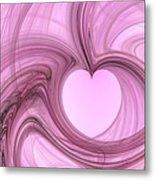 Pink Valentine Metal Print